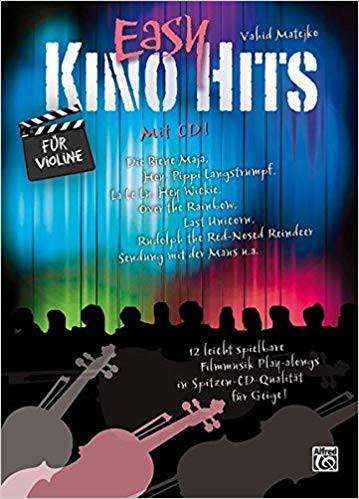 Pippi Langstrumpf Akkorde Neu Easy Kino Hits Für Violine Mit Cd Amazon Vahid Matejko Bücher Sammlung