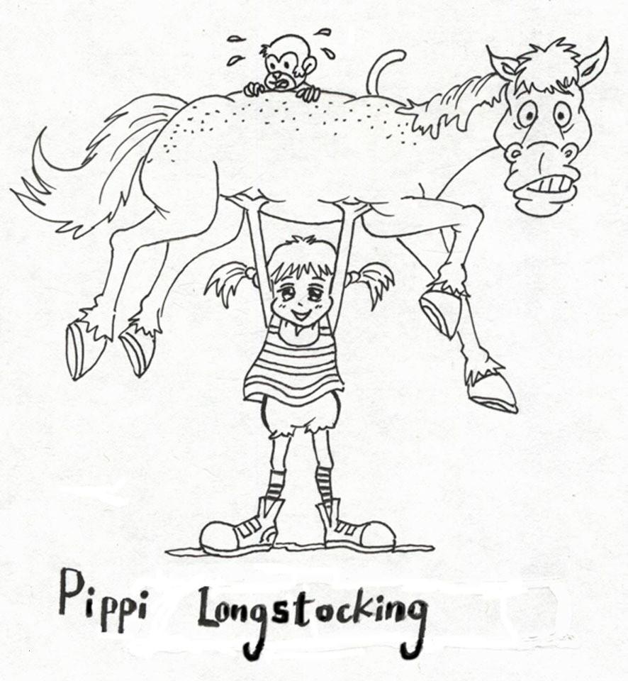 Pippi Langstrumpf Ausmalbilder Einzigartig 35 Ausmalbilder Pippi forstergallery Das Bild