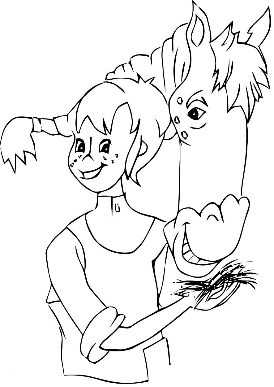 Pippi Langstrumpf Malvorlage Inspirierend 35 Ausmalbilder Pippi forstergallery Bild
