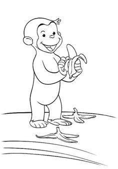 Pippi Langstrumpf Malvorlage Inspirierend Coco Der Neugierige Affe 21 Malen Mit Robin Pinterest Das Bild