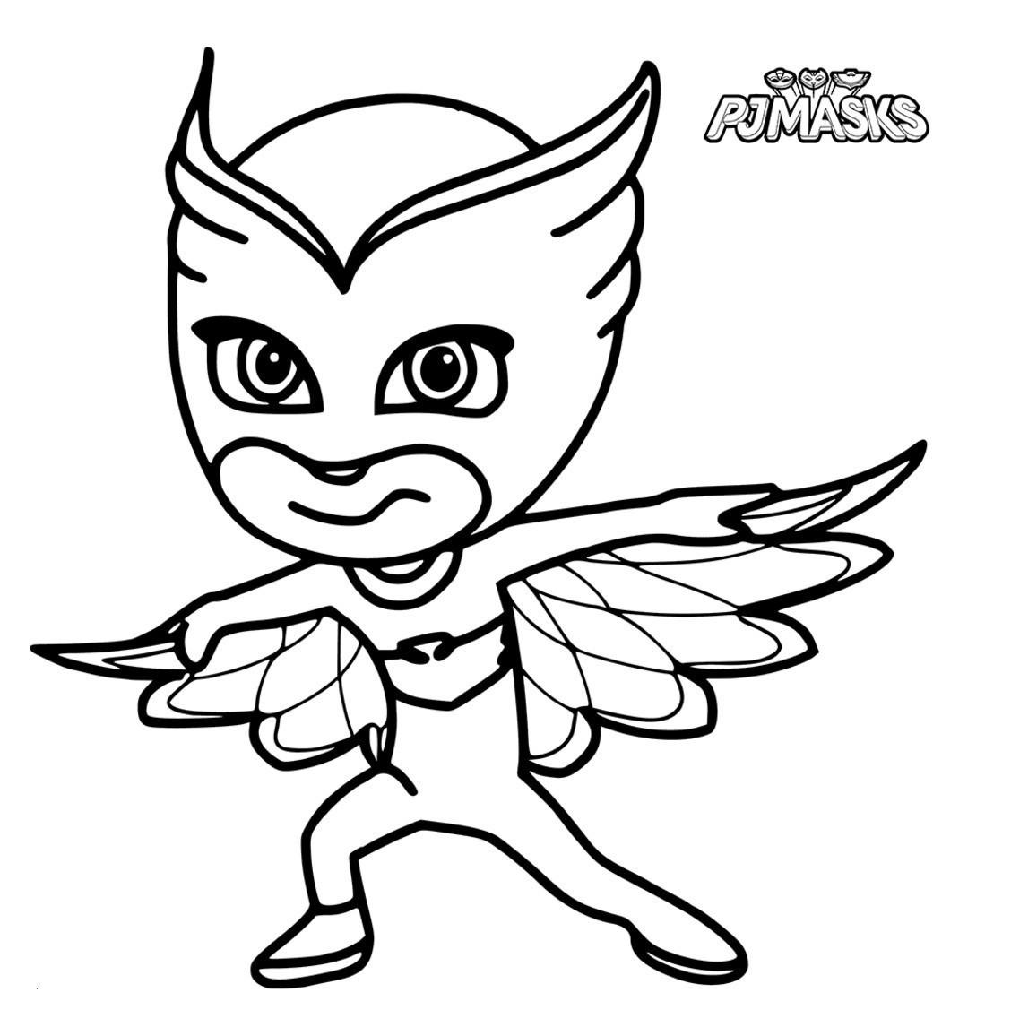 Pj Mask Ausmalbild Genial Ausmalbilder Pj Masks Inspirierend 12 Owlette Coloring Page Schön Pj Das Bild