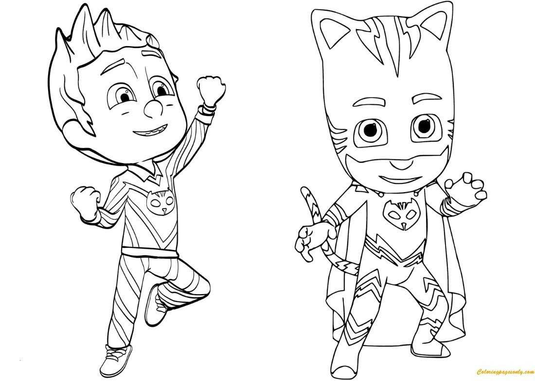Pj Mask Ausmalbild Inspirierend Pj Masks Coloring Pages New Pj Mask Ausmalbilder Uploadertalk Fotos