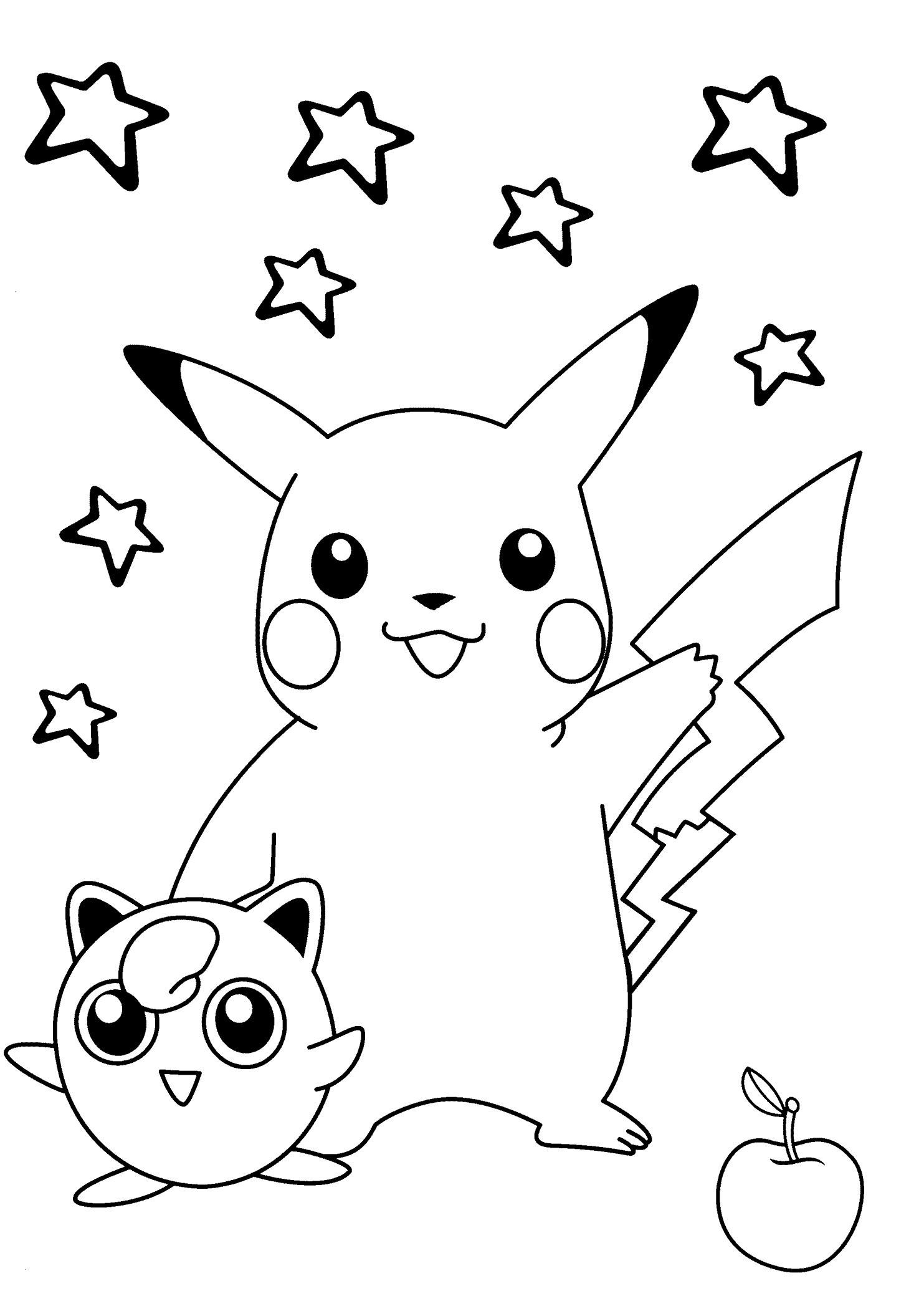 Pokemon Bilder Zum Ausdrucken In Farbe Einzigartig Smiling Pokemon Coloring Pages for Kids Printable Free Frisch 3d Bilder