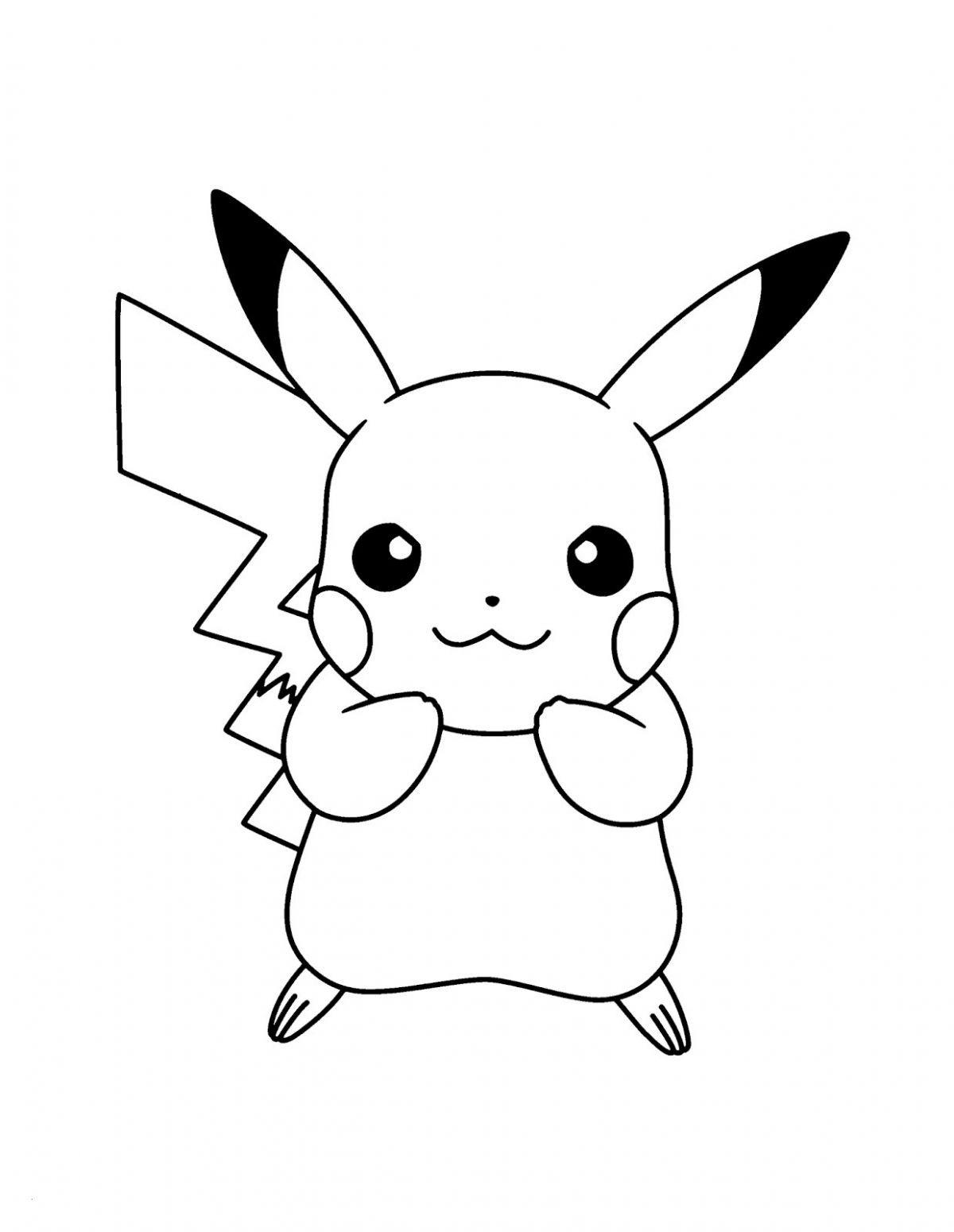 Pokemon Bilder Zum Ausdrucken In Farbe Frisch Malvorlagen Fussball Awesome Pikachu Ausmalbild Pokemon Pinterest Fotografieren