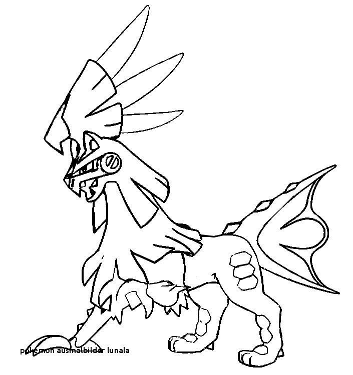 Pokemon Bilder Zum Ausmalen Einzigartig 22 Pokemon Ausmalbilder Lunala Colorprint Bild