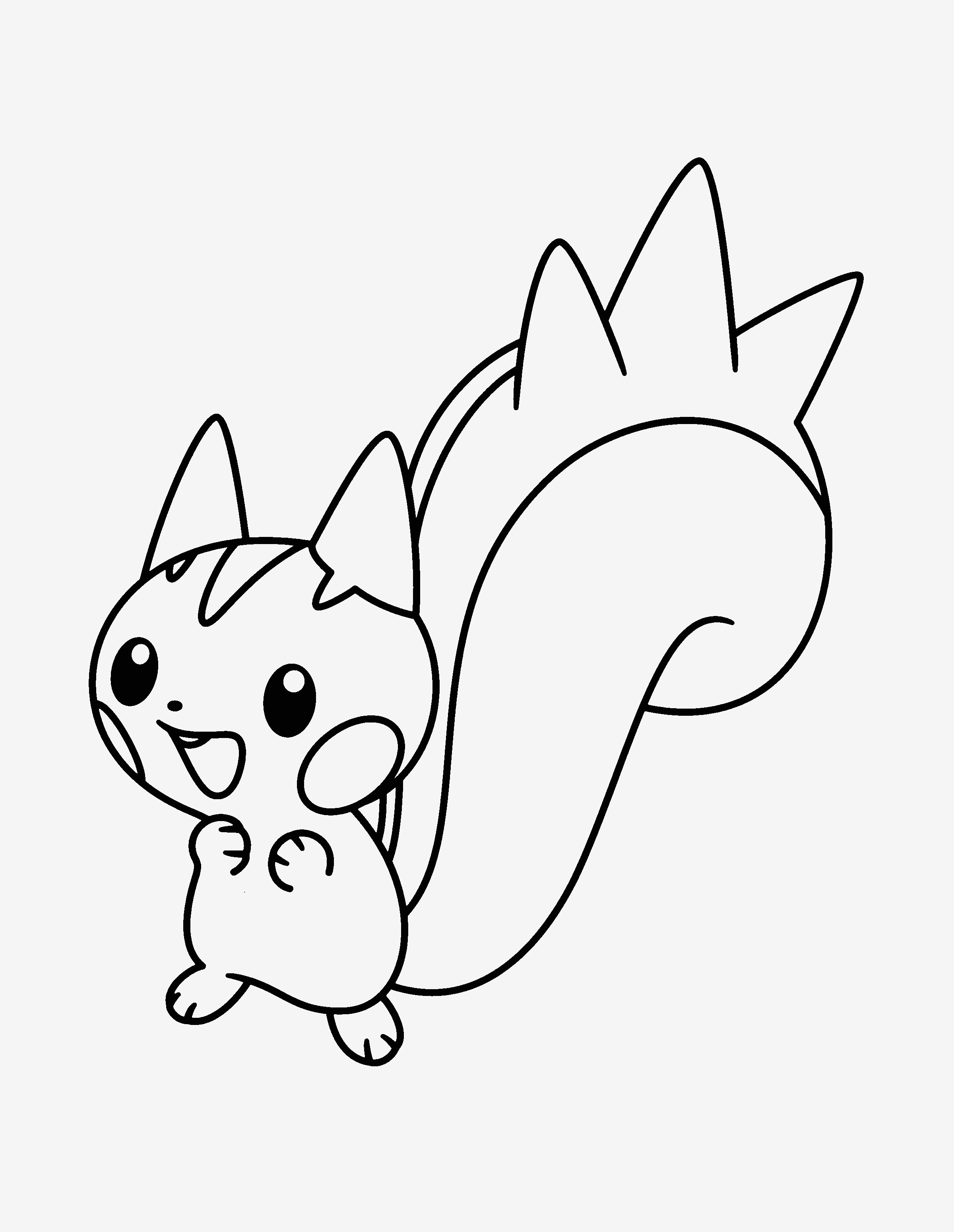 Pokemon Bilder Zum Ausmalen Frisch 41 Luxus Pokemon Pikachu Ausmalbilder – Große Coloring Page Sammlung Stock