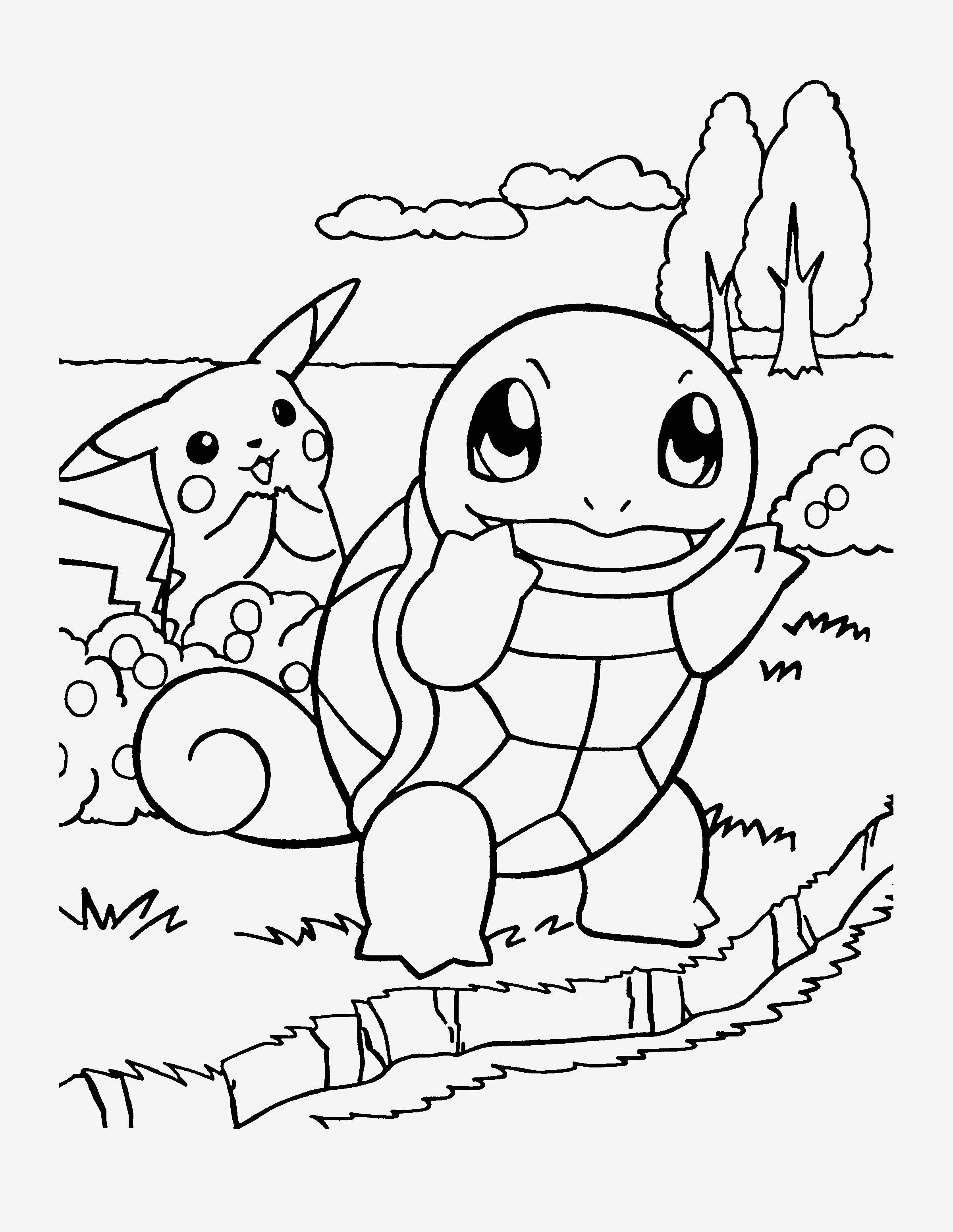 Pokemon Bilder Zum Ausmalen Frisch Spannende Coloring Bilder Ausmalbilder Pokemon Pikachu Sammlung
