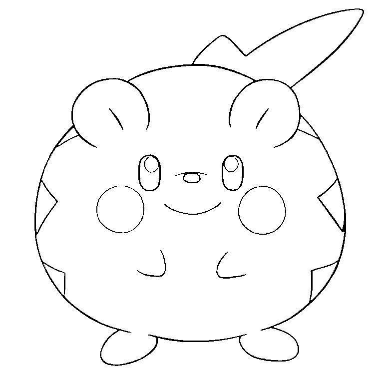Pokemon sonne Und Mond Ausmalbilder Das Beste Von Malvorlagen Pokemon sonne Und Mond togedemaru 15 Stock