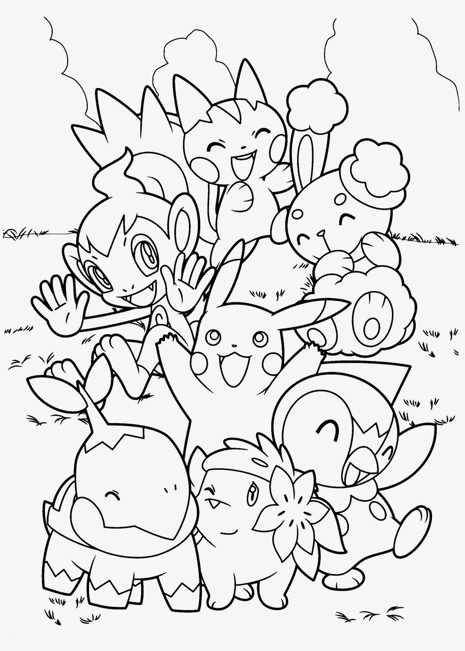 Pokemon sonne Und Mond Ausmalbilder Einzigartig Pokemon Farbe Wunderbar 37 Ausmalbilder Pokemon Scoredatscore Stock