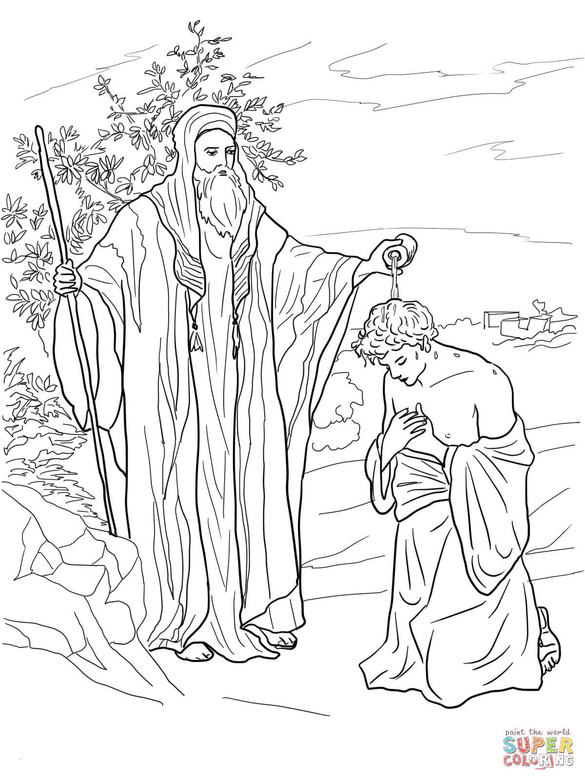 Reh Bilder Zum Ausmalen Frisch Ausmalbild Samuel Salbt Saul Zum König Luxus König David Bilder