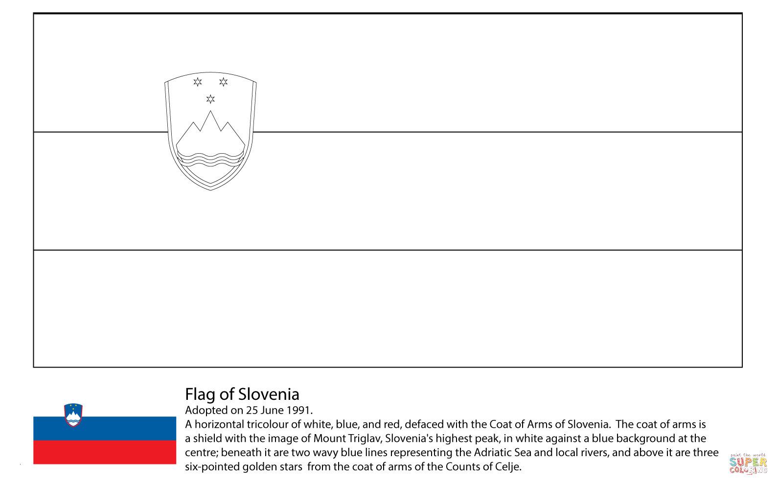Reh Bilder Zum Ausmalen Neu Ausmalbild Flagge Von Slowenien Luxus Ausmalbilder Fahnen Fotografieren