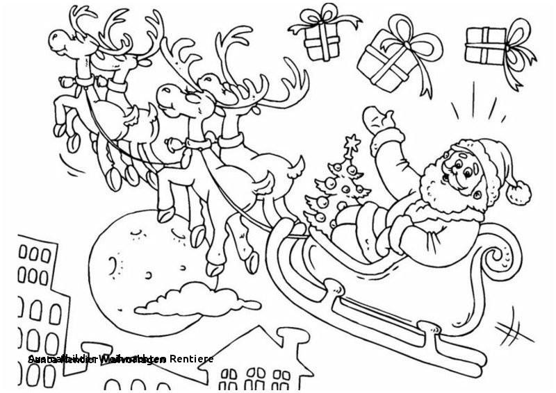 Rentier Zum Ausmalen Einzigartig 26 Ausmalbilder Weihnachten Rentiere Colorbooks Colorbooks Sammlung