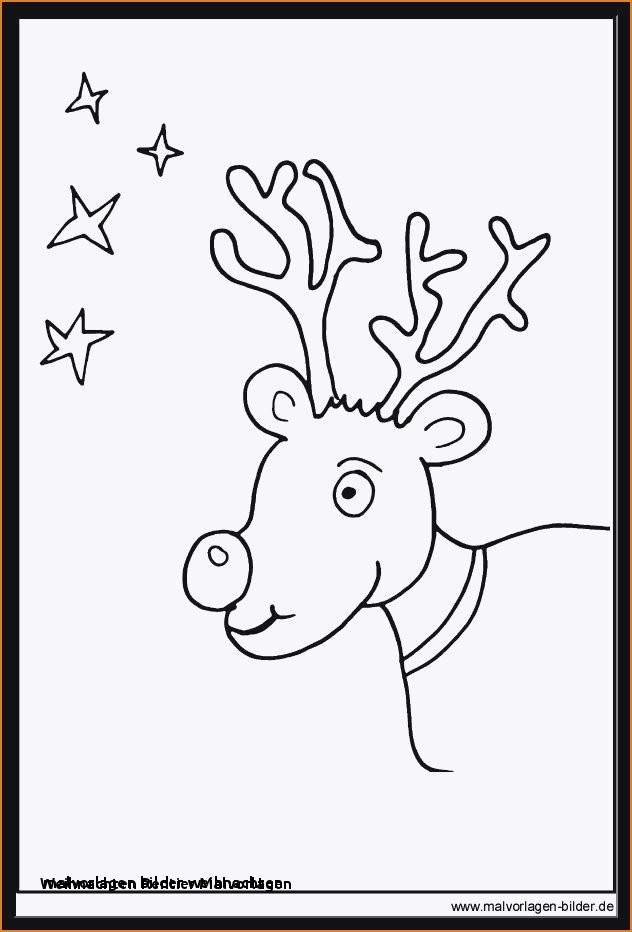 Rentier Zum Ausmalen Frisch Malvorlagen Bilder Weihnachten Weihnachten Rentier Malvorlagen 44 Stock