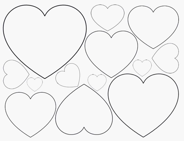 Rosen Mit Herzen Ausmalbilder Neu Ausmalbilder Herz Mit Rosen Brief Frisches Herz Vorlage Zum Galerie