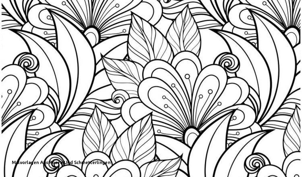 Rosen Zum Ausmalen Genial Malvorlagen Aus Rosen Und Schmetterlingen Ausmalbilder Blumen Galerie