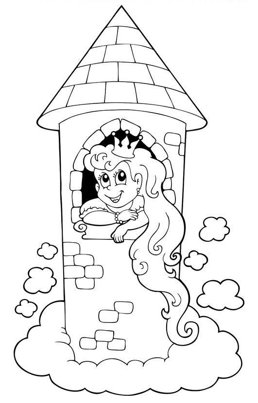 Rumpelstilzchen Bilder Zum Ausdrucken Frisch Ausmalbild Märchen Ausmalbild Rapunzel Im Turm Kostenlos Galerie