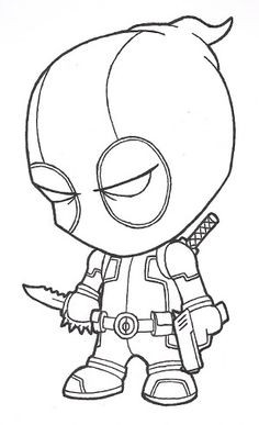 Schöne Und Das Biest Ausmalbilder Das Beste Von 70 Best Deadpool Coloring Deadpool Coloring Pages for Kids Deadpool Sammlung