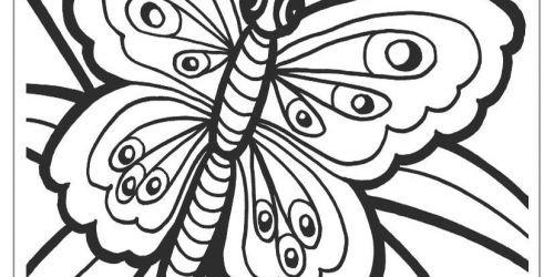 Schmetterling Bilder Zum Ausmalen Inspirierend 30 Schön Schmetterling Zum Ausmalen – Große Coloring Page Sammlung Stock
