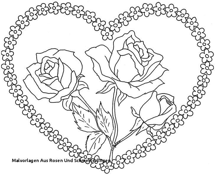 Schmetterling Mit Blume Zum Ausmalen Frisch Malvorlagen Aus Rosen Und Schmetterlingen Ausmalbilder Blumen Schone Stock
