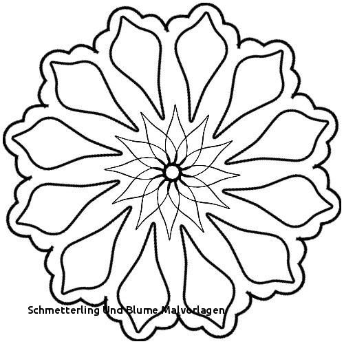 Schmetterling Und Blume Malvorlagen Ausmalbilder Blumen Schone