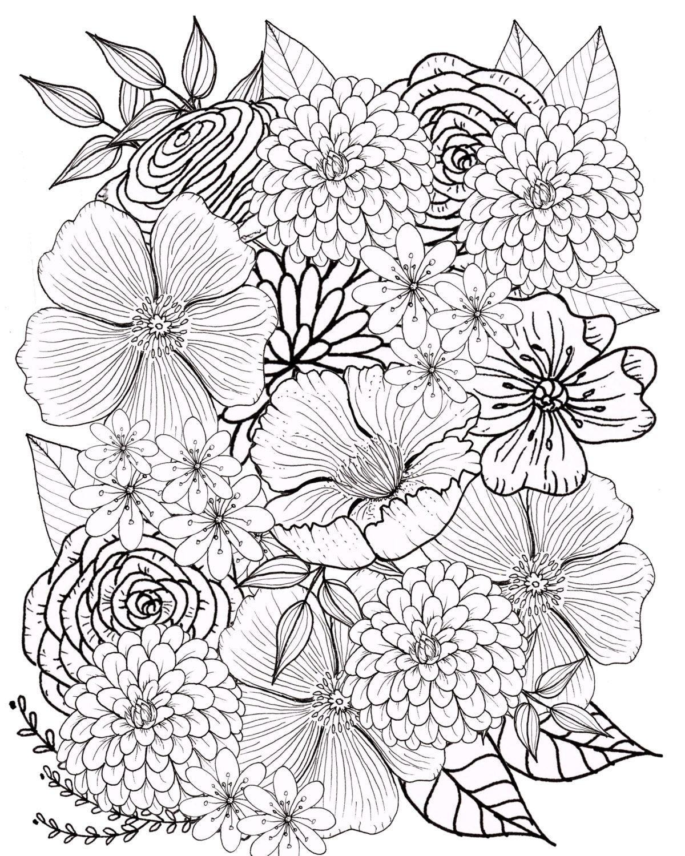 Schmetterling Mit Blume Zum Ausmalen Inspirierend Malvorlagen Aquarell Einzigartig top 15 Ausmalbilder Für Erwachsene Stock