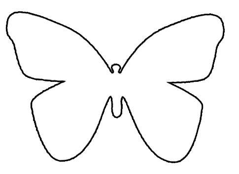 Schmetterlinge Bilder Zum Ausmalen Frisch Schmetterling Vorlage Diy Ideas Pinterest Sammlung