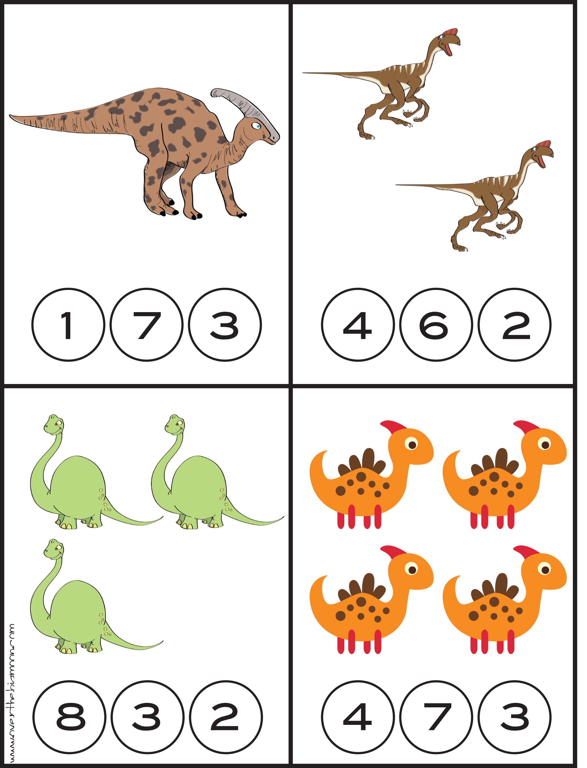 Seepferdchen Zum Ausmalen Genial Werkblad Rekenen Dino S Dinosaurios Pinterest Schön Mathe Sammlung