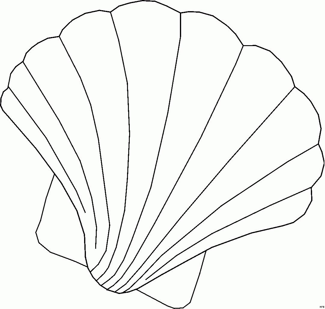 Seestern Zum Ausmalen Einzigartig Muschel Ausmalbilder – Neu Pics Hd Für Muschel Ausmalbild Bild
