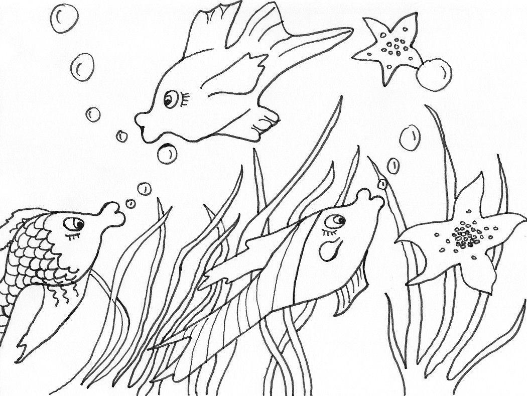 Sommer Bilder Zum Ausmalen Frisch Ausmalbilder Fische Malen Ausmalbilder Tiere Schön Malvorlagen Bild