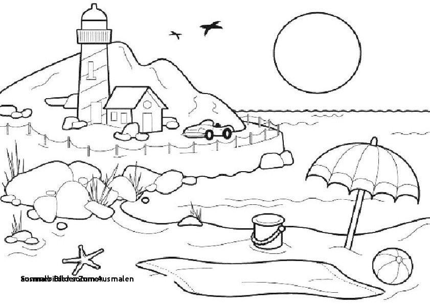 Sommer Bilder Zum Ausmalen Frisch Ausmalbilder sommer Ecoloringfo Die Besten Malvorlagen Colorprint Bild