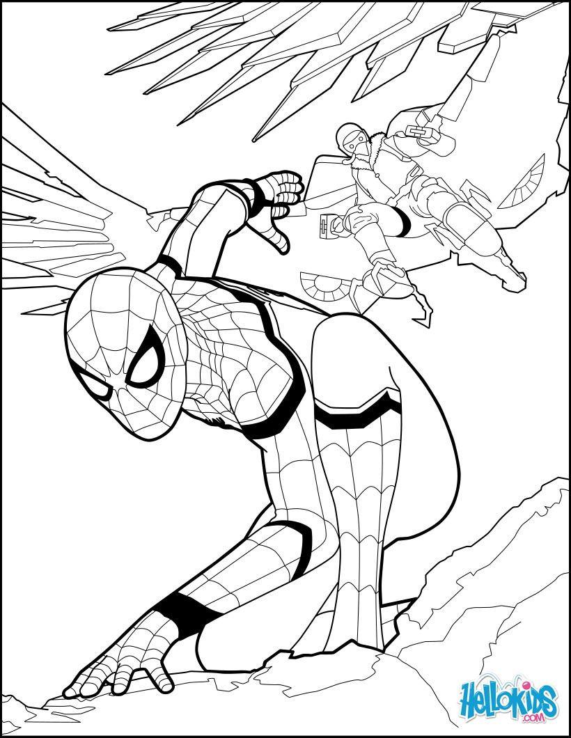 Spiderman Bilder Zum Ausmalen Das Beste Von Spiderman Home Ing 1 Basteln Pinterest Das Bild