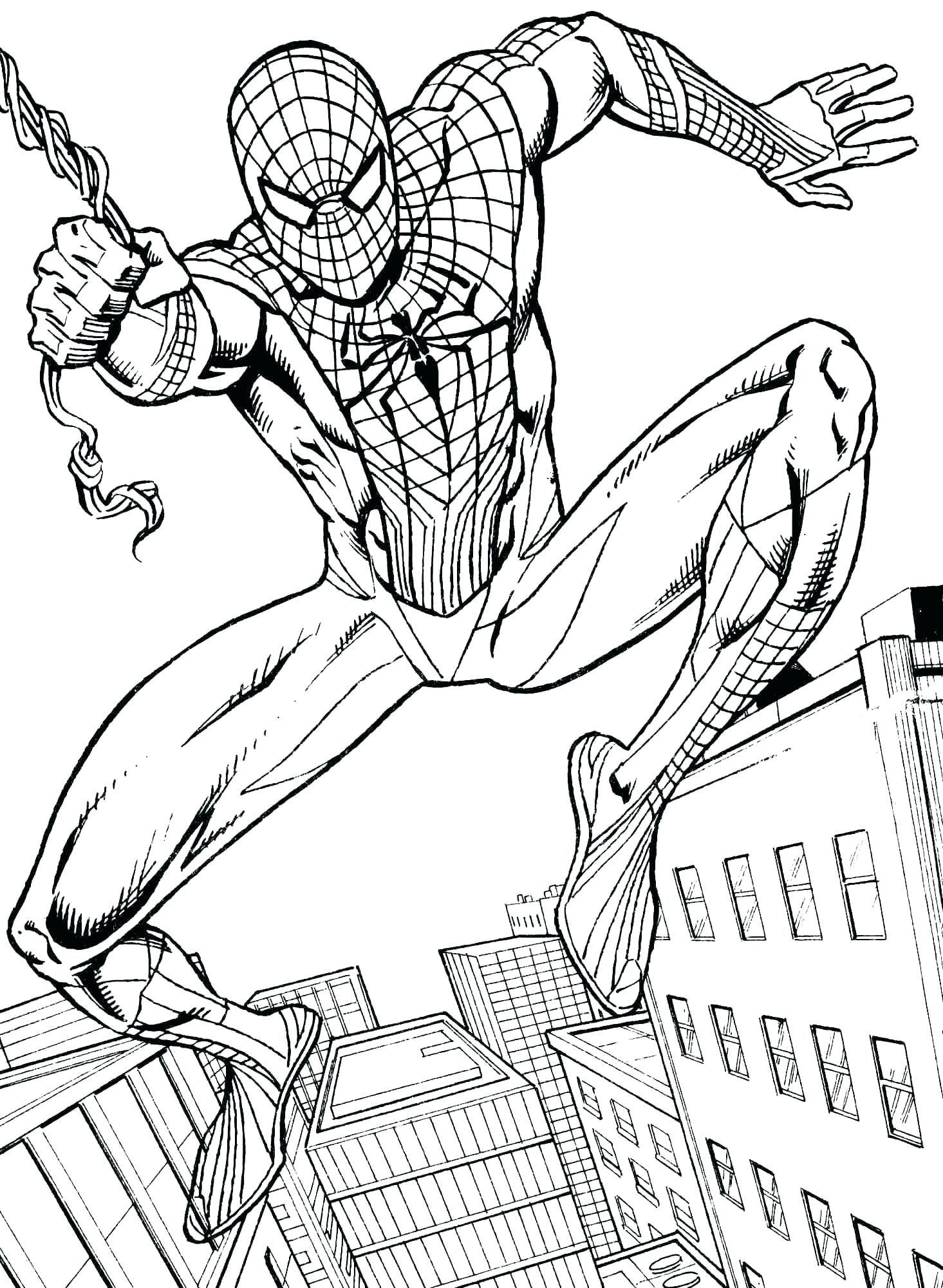 Spiderman Bilder Zum Ausmalen Neu Spiderman Ausmalbilder Kostenlos Große 40 Spiderman Malvorlagen Fotografieren