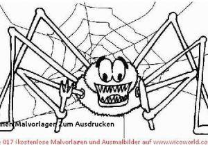 Spinnennetz Mit Spinne Malvorlage Inspirierend Halloween Malvorlagen Spinne Ausmalbilder Rund Um Halloween Das Bild