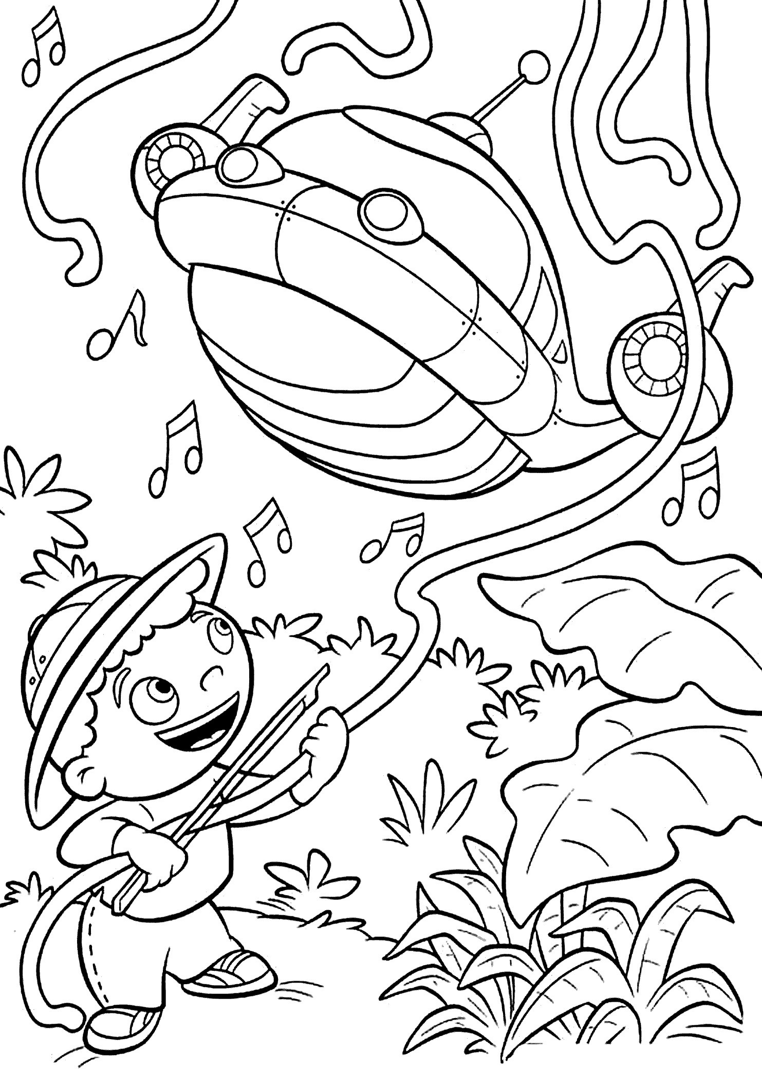 Spinnennetz Mit Spinne Malvorlage Neu Little Einsteins Cartoon Coloring Pages for Kids Printable Free Fotos