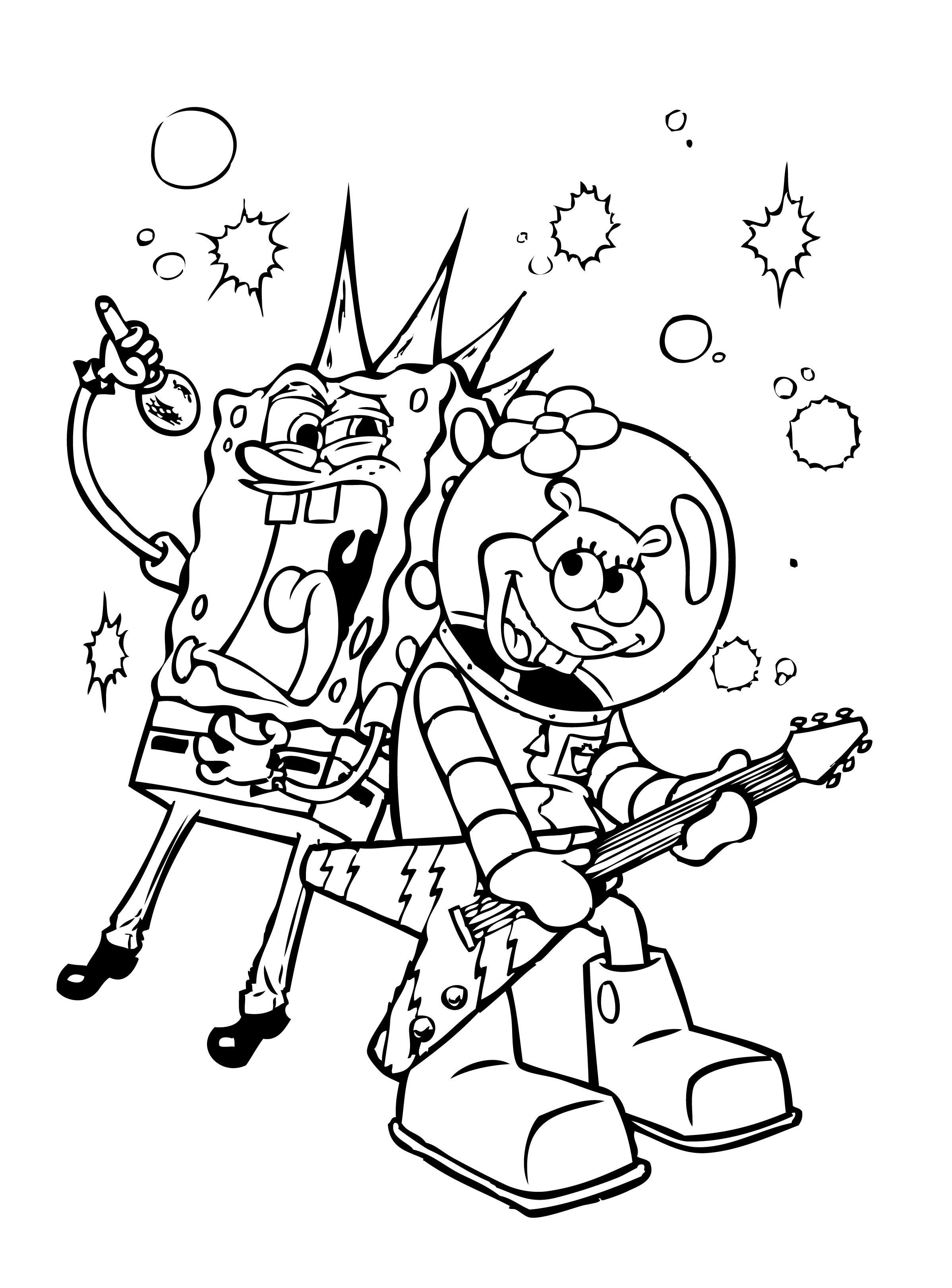 Spongebob Bilder Zum Ausmalen Frisch Spongebob Squarepants Coloring Pages Luxury Cool Coloring Page Luxus Das Bild