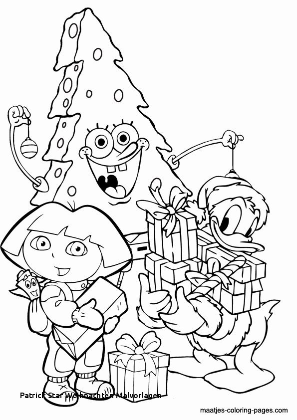 Spongebob Zum Ausmalen Das Beste Von Patrick Star Weihnachten Malvorlagen Ausmalbilder Ballon Zum Sammlung