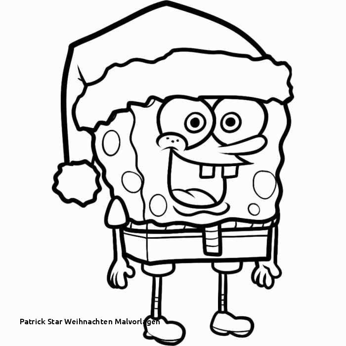 Spongebob Zum Ausmalen Einzigartig Patrick Star Weihnachten Malvorlagen Ausmalbilder Ballon Zum Das Bild