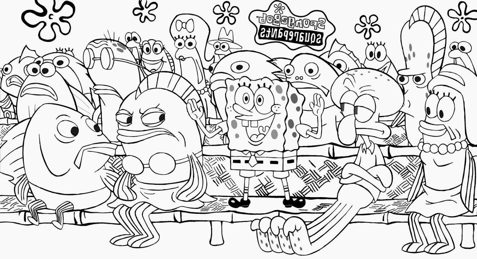 Spongebob Zum Ausmalen Genial 44 Beste Von Ausmalbilder Kikaninchen – Große Coloring Page Sammlung Sammlung