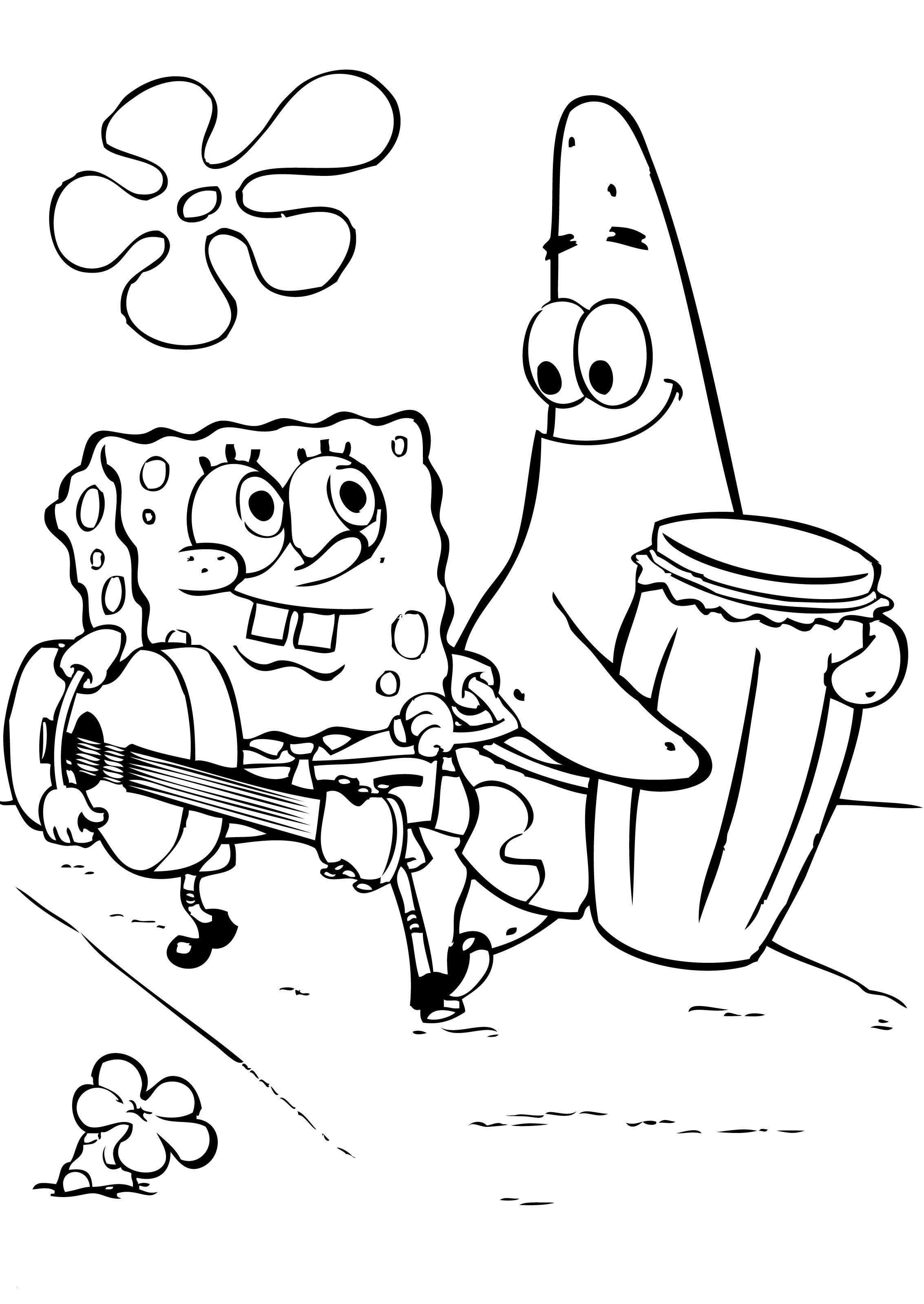 Spongebob Zum Ausmalen Inspirierend Spongebob Squarepants Coloring Pages Luxury Cool Coloring Page Luxus Das Bild