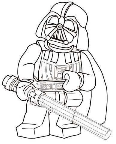 Star Wars Ausmalbilder Darth Vader Frisch Lego Star Wars Coloriage Inspirational Ausmalbild Lego Star Wars Galerie