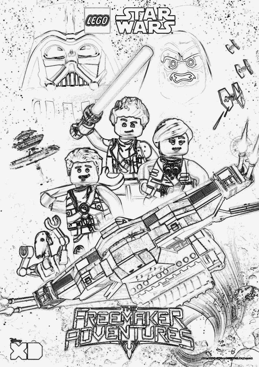 Star Wars Ausmalbilder Zum Ausdrucken Einzigartig Star Wars Malvorlagen Bildergalerie & Bilder Zum Ausmalen Lego Star Bilder