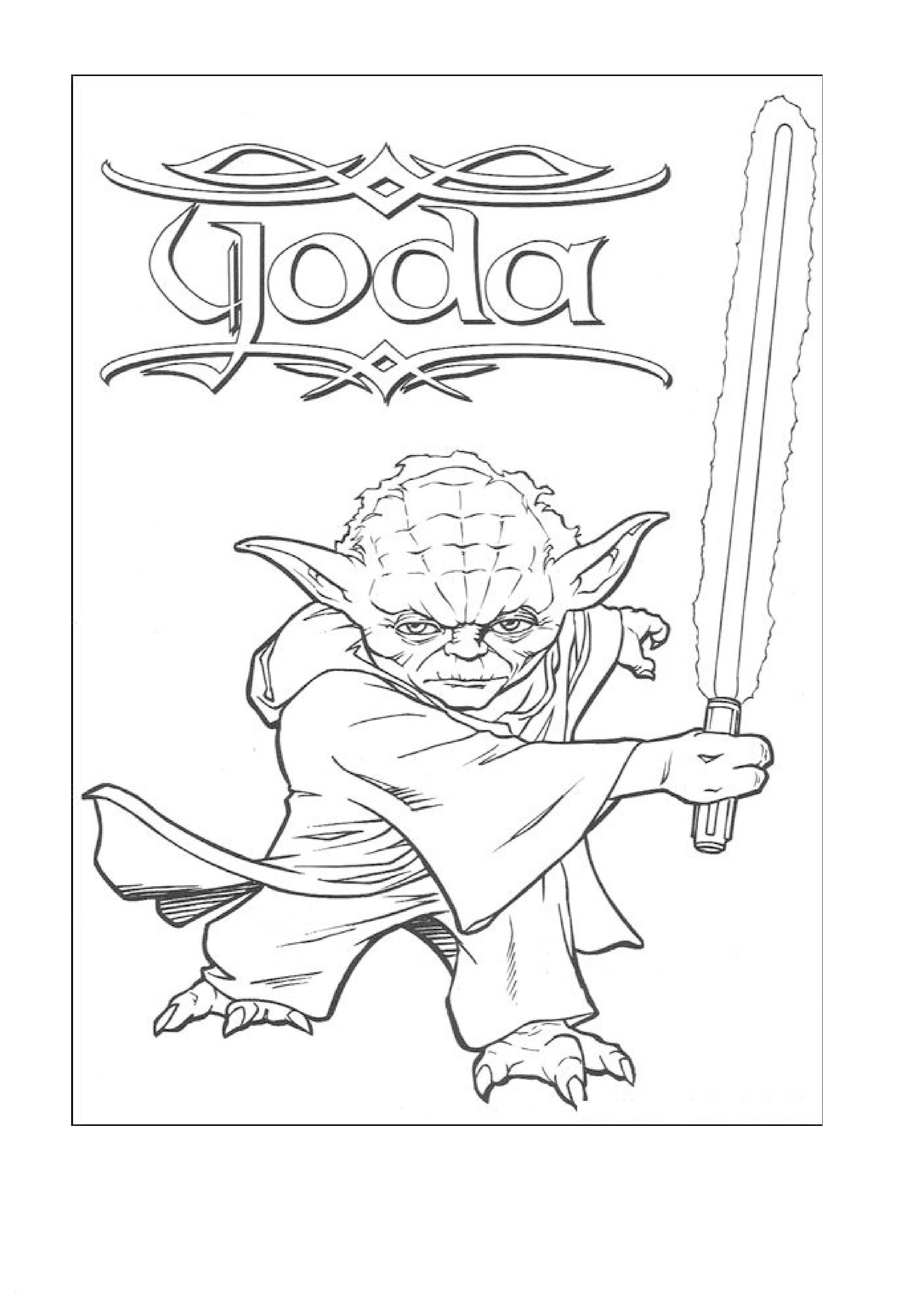 Star Wars the Clone Wars Ausmalbilder Das Beste Von Yoda Ausmalbilder Elegant Star Wars Free Coloring Pages Awesome Star Fotografieren