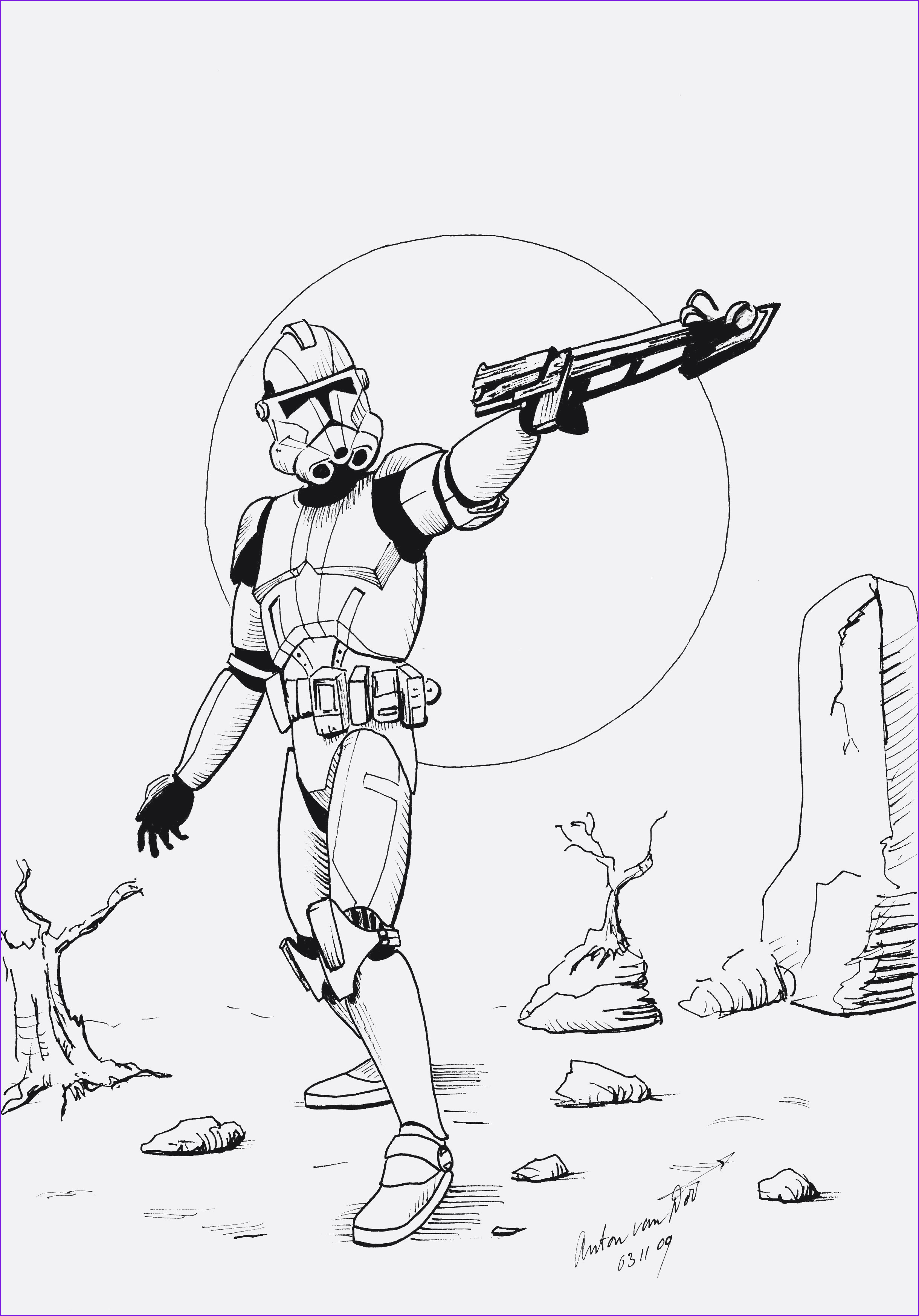 Star Wars the Clone Wars Ausmalbilder Genial Star Wars the Clone Wars Coloring Pages to Print Coloring Pages Stock
