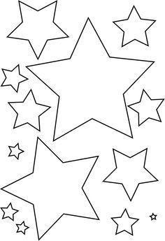 Stern Weihnachten Malvorlage Einzigartig Stern Vorlage Schablone Sterne Sammlung