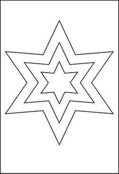 Stern Weihnachten Malvorlage Inspirierend Stern Vorlage Schablone Sterne Das Bild