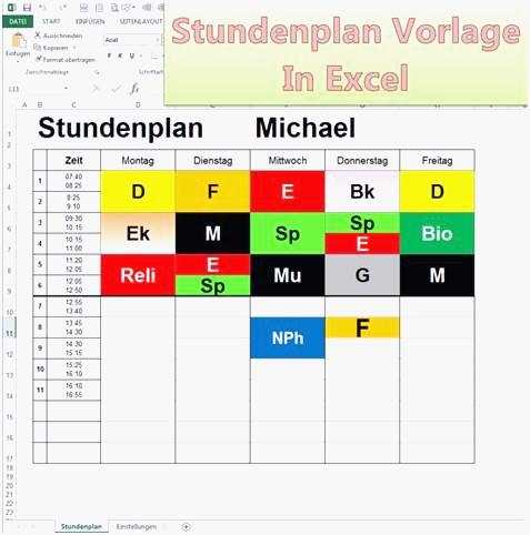 Stundenplan Zum Ausdrucken topmodel Frisch 27 Das Neueste Muster Nebenkostenabrechnung Excel Beschreibung Fotografieren