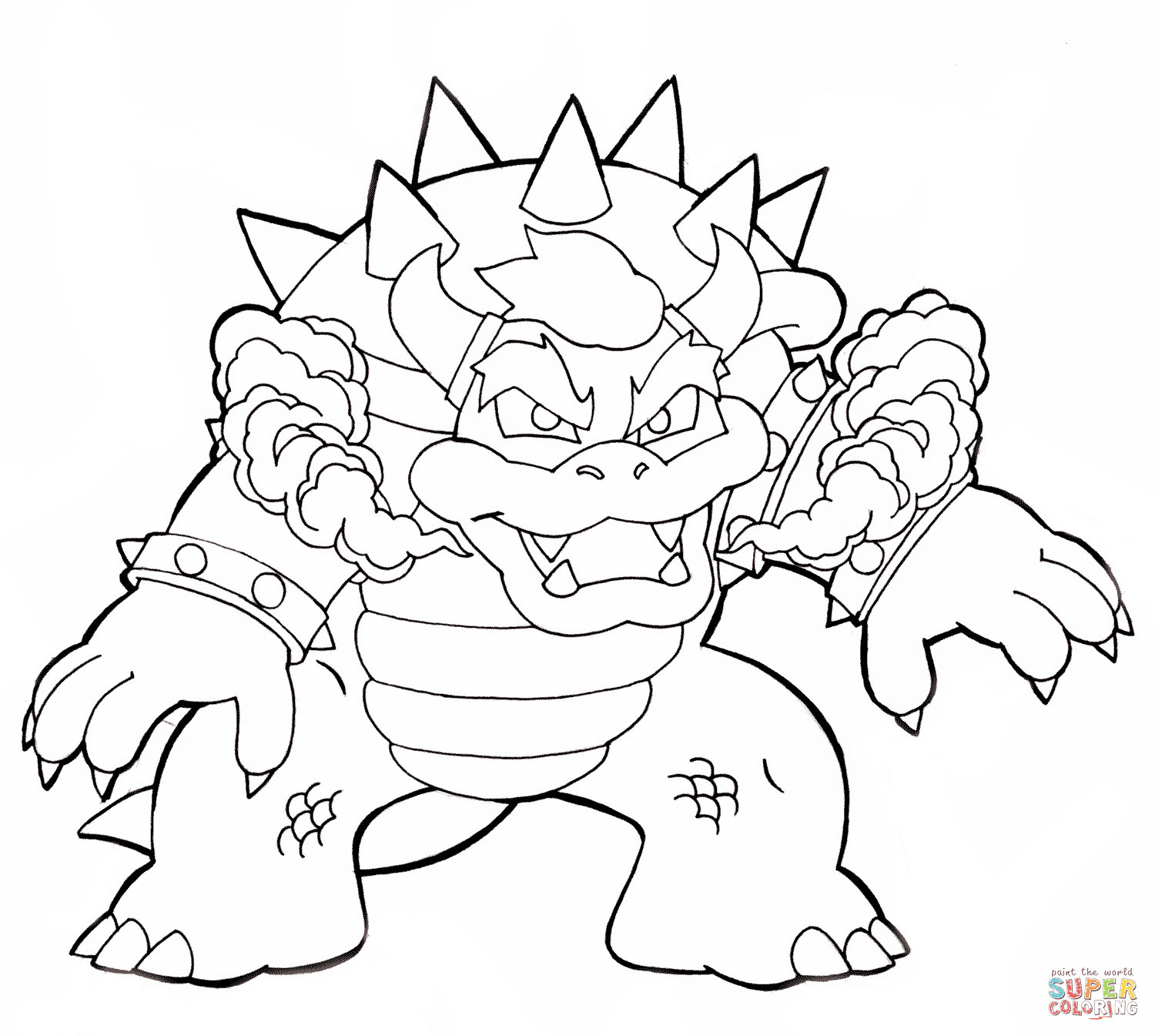 Super Mario Ausmalbilder Das Beste Von Mario Bros Bowser Coloring Pages by Sharon Mario Party Schön Super Fotografieren