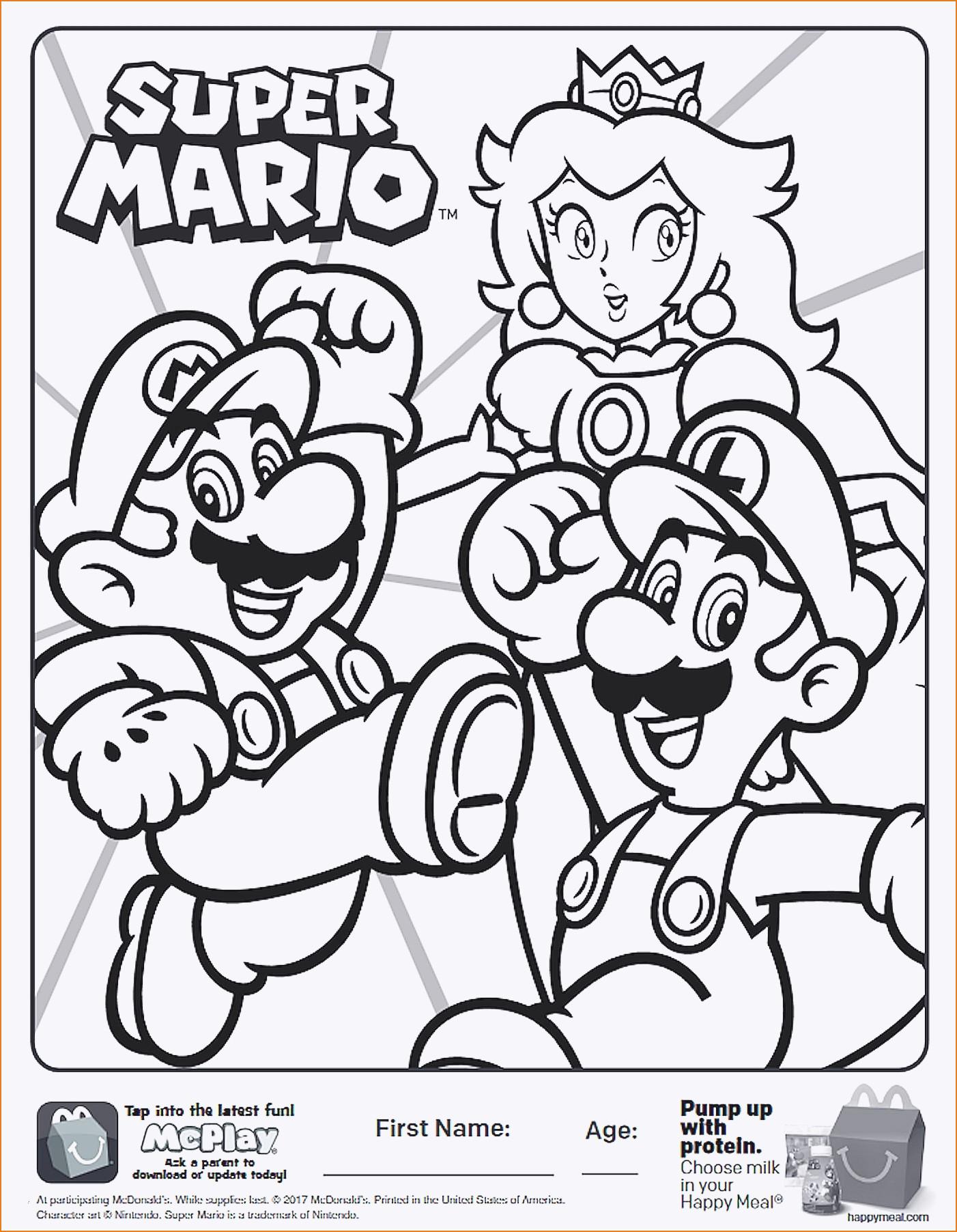 Super Mario Malvorlage Einzigartig Luigi Ausmalbilder Uploadertalk Schön Malvorlagen Super Mario Stock