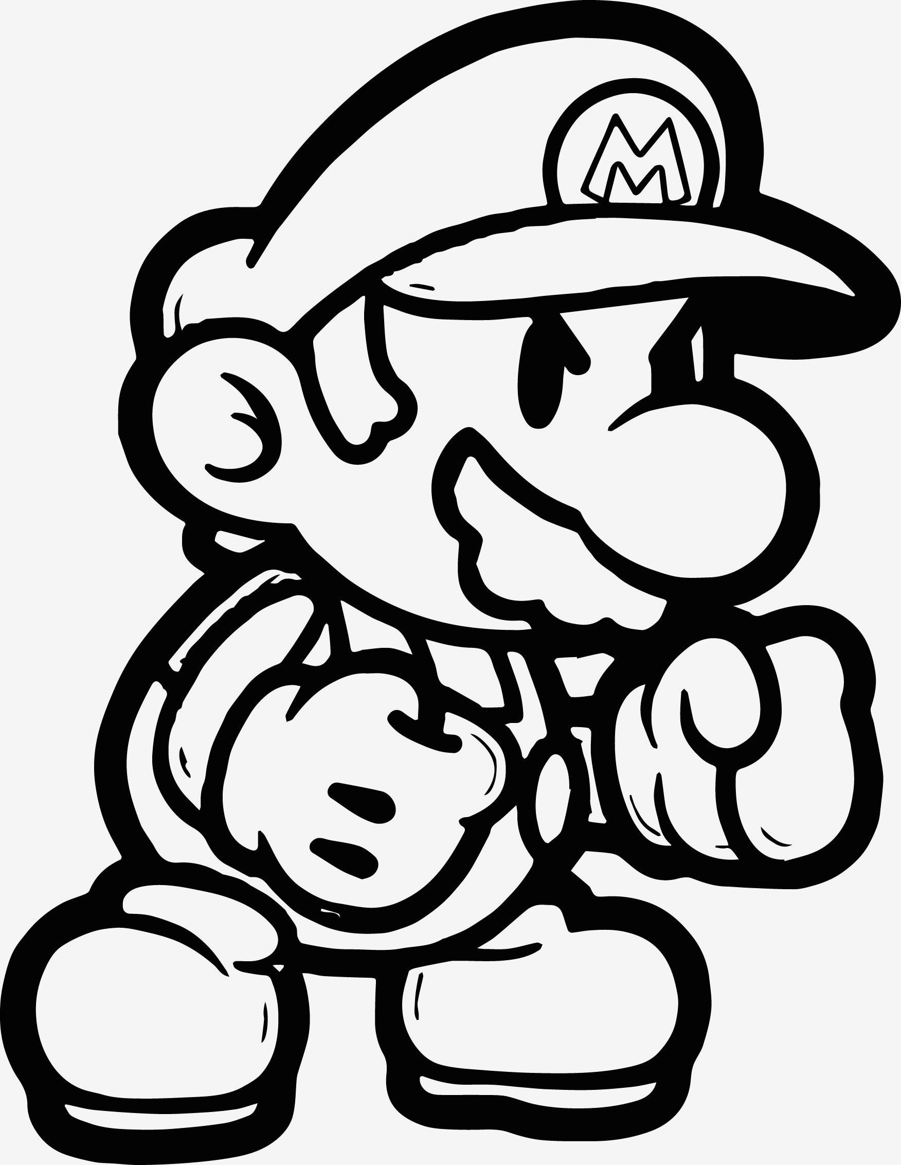 Super Mario Malvorlage Frisch Spannende Coloring Bilder Super Mario Malvorlagen Bilder