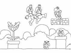 Super Mario Malvorlage Inspirierend Mario Ausmalbilder 04 Mario Und Luigi Pinterest Fotos